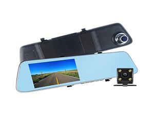 T110 Rear View Mirror Dashcam
